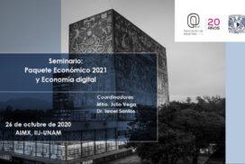 Seminario: Paquete Económico 2021 y Economía digital