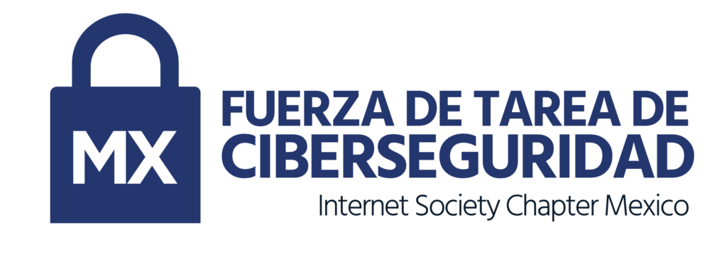 Fuerza de Tarea de Ciberseguridad - Internet Society Chapter Mexico Logo