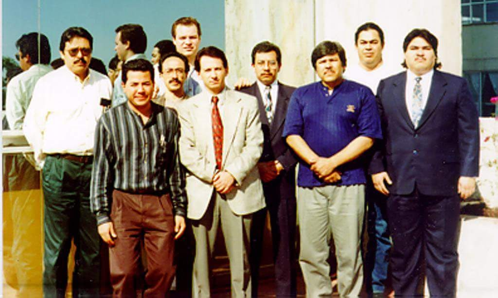 Fundadores del Capítulo México de la  Internet Society . 1996.