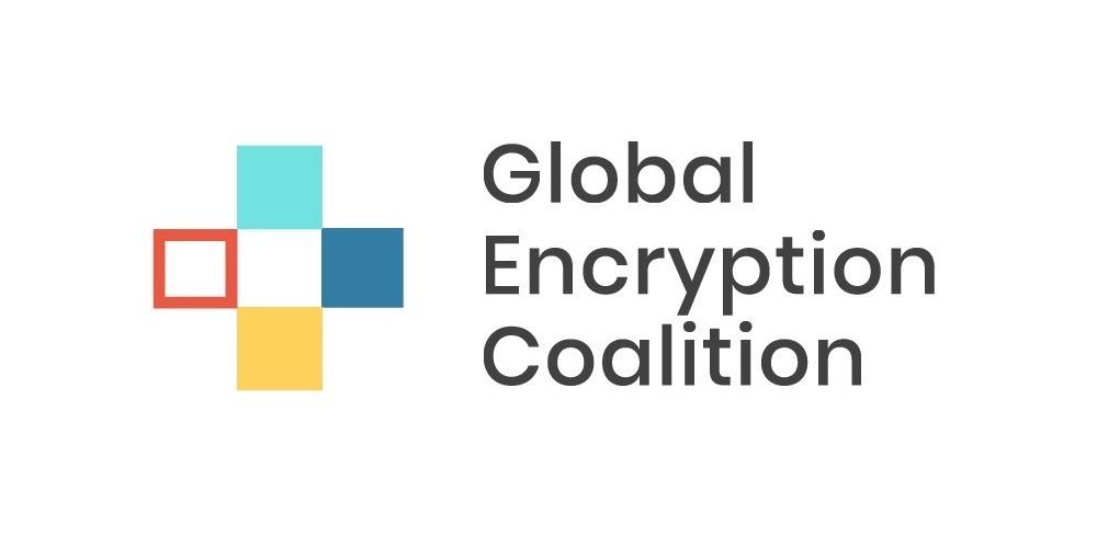 Logo del Global Encryption Coalition
